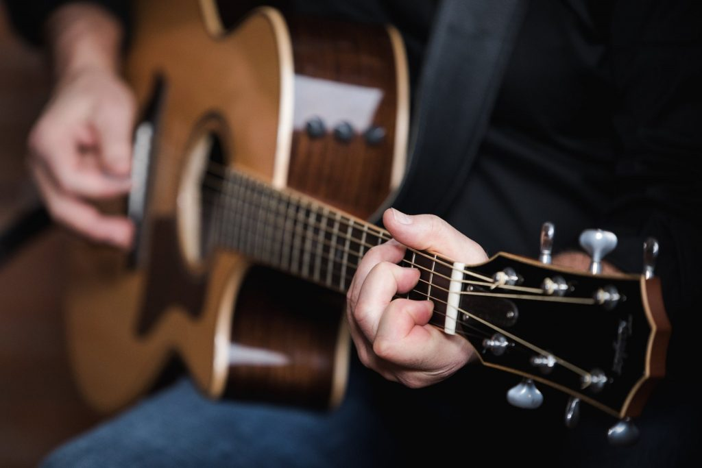 Victor Hafichuk Playing Guitar